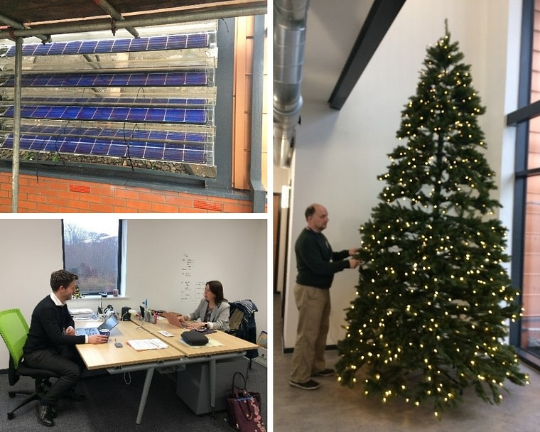 Active Office Xmas Tree + PVT Tubes